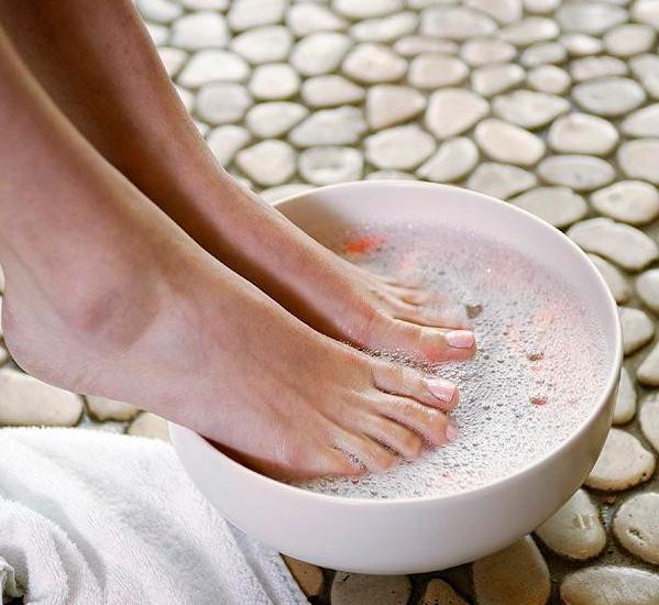 ноги в тазик поваренной солью Termoline шьется только